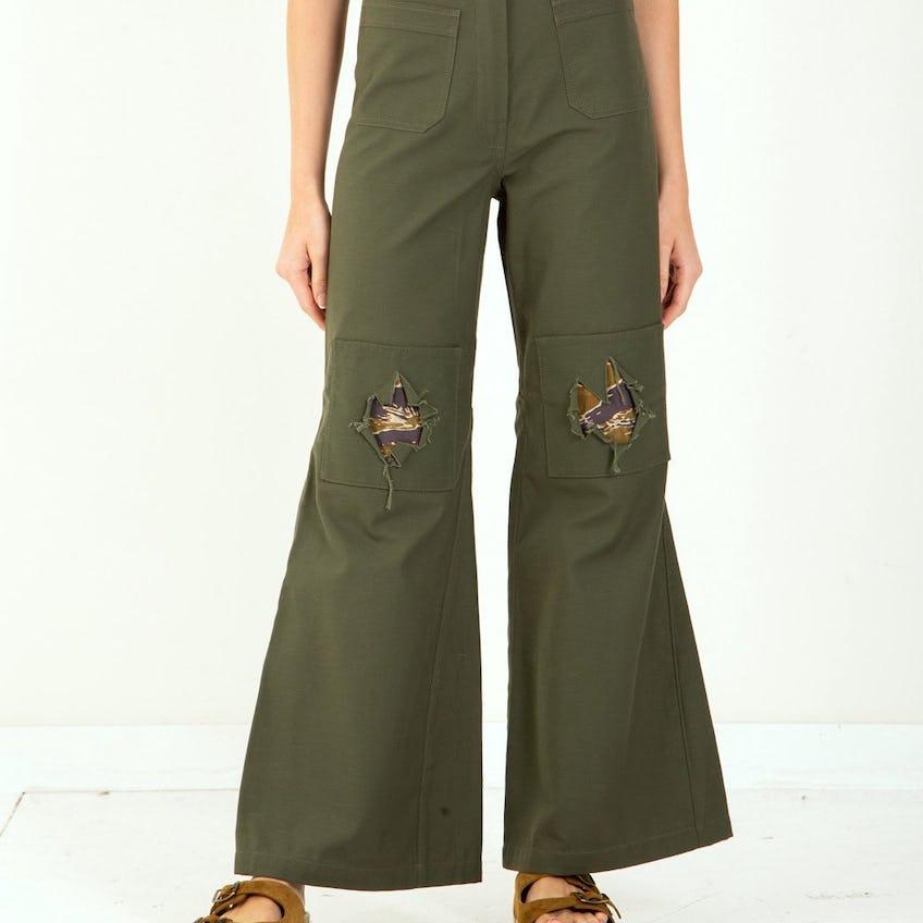 Peace-N-Patch Pants 0