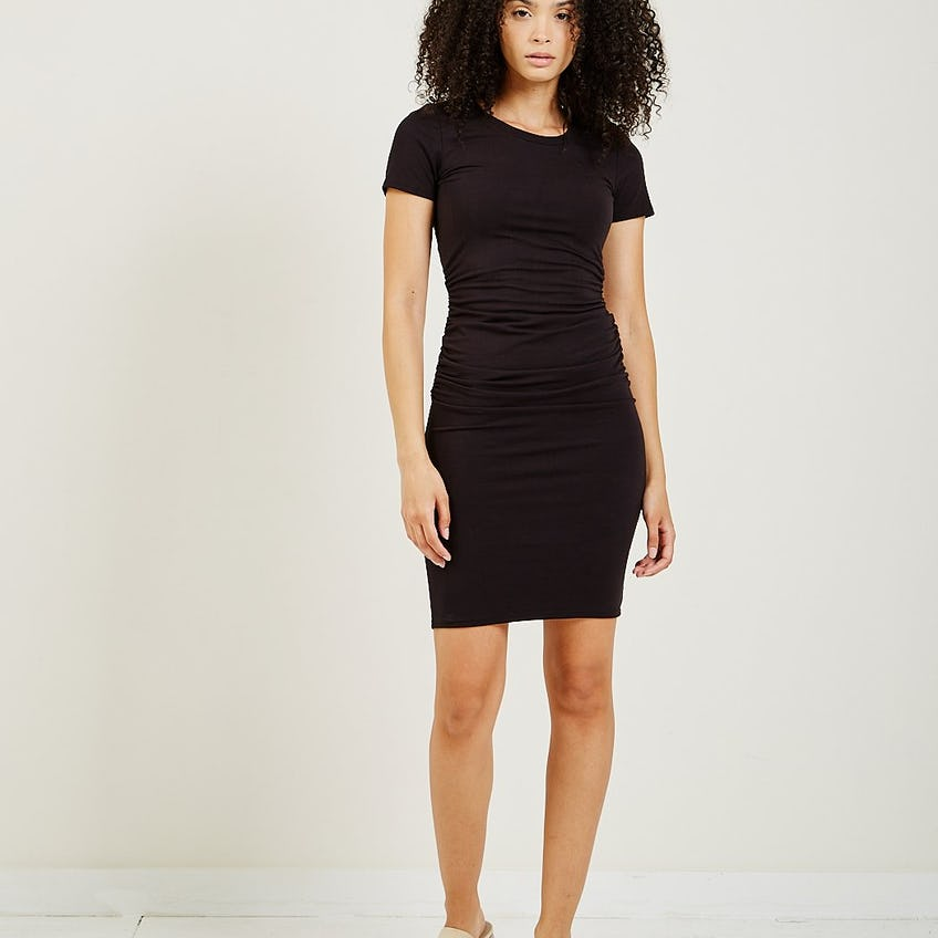 Ruched Dress 0