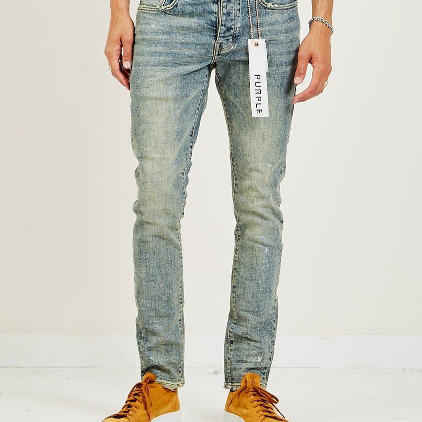 P001 Slim Fit Jean Light Indigo Silver 0