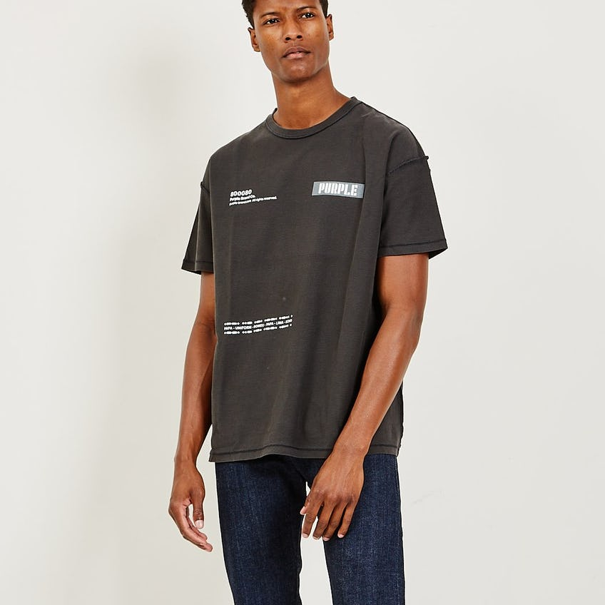 Relaxed Fit Tee Triple Purple 0
