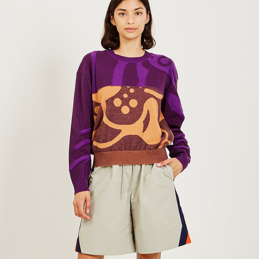 Abstract Jumper 0