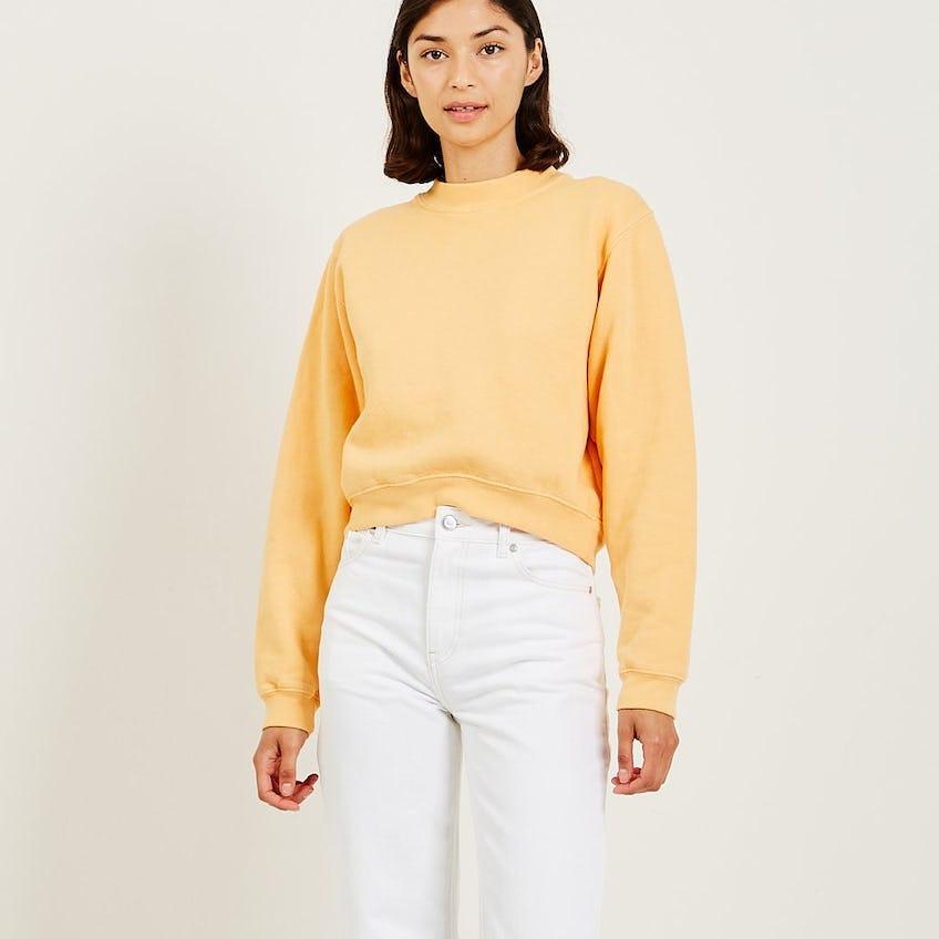Leslie Crew Neck Long Sleeve Sweatshirt 0