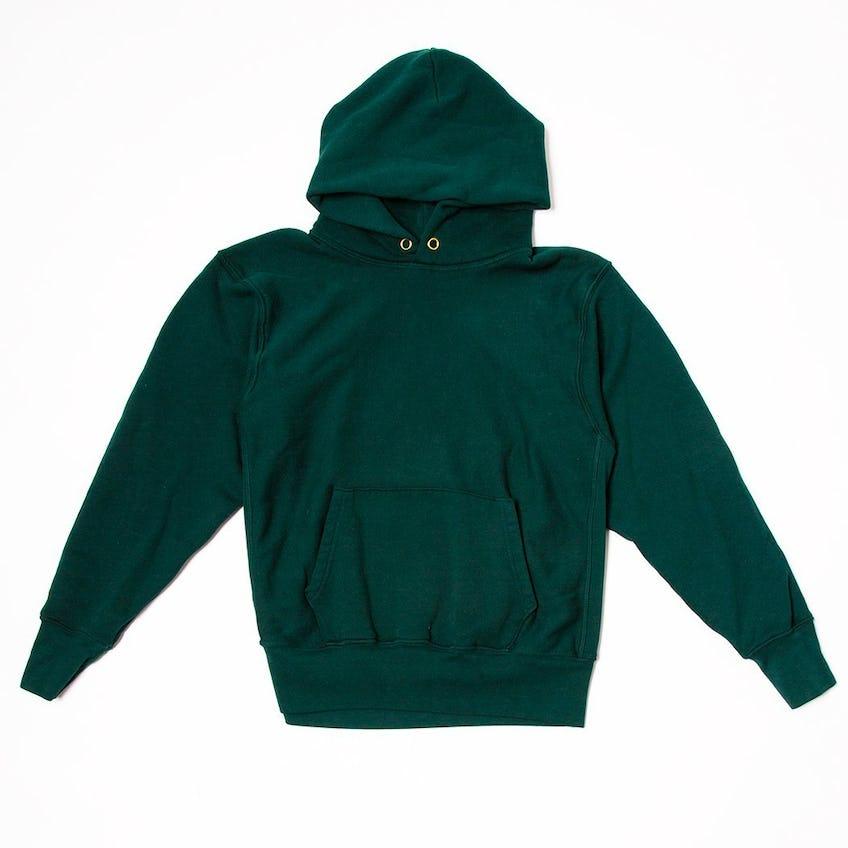 Cropped Hoodie Emerald 0