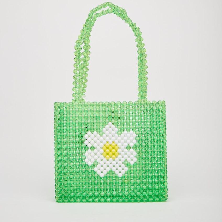 Green Daisy Bag 0