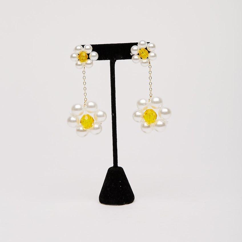 Gigi Earrings Yellow 0