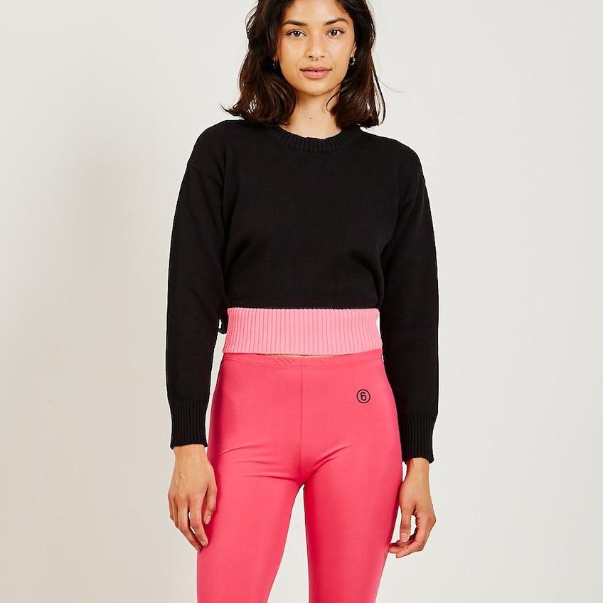 Two-Tone Sweater 0
