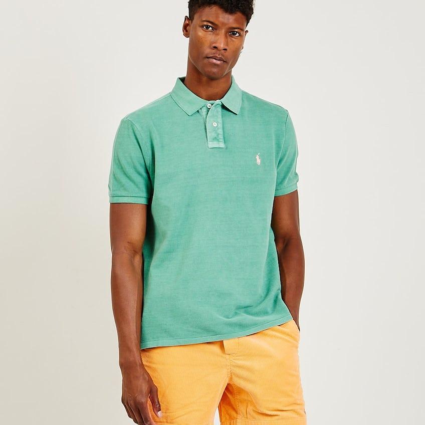Iconic Mesh Polo Shirt Green 0