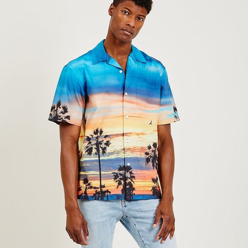 Printed S/S Shirt 0