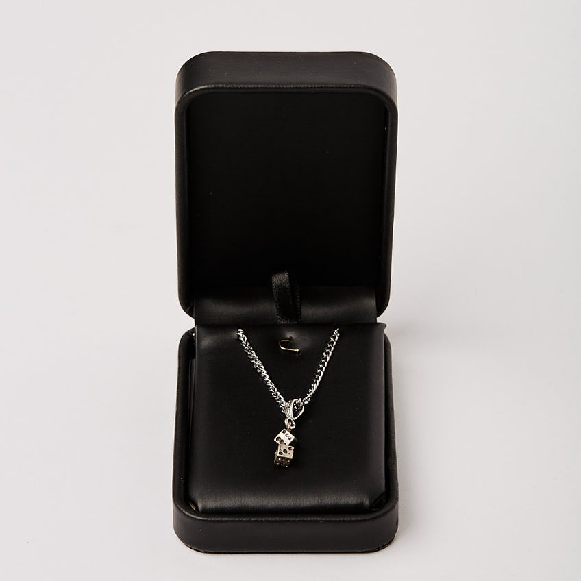Dice Charm Necklace 0