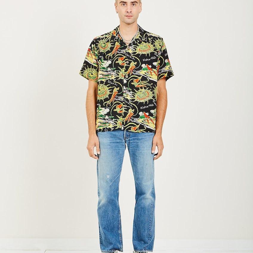 American Rag Aloha Shirt 0