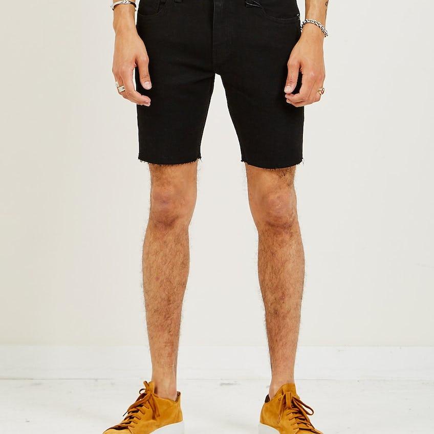 412 Slim Shorts Black 0
