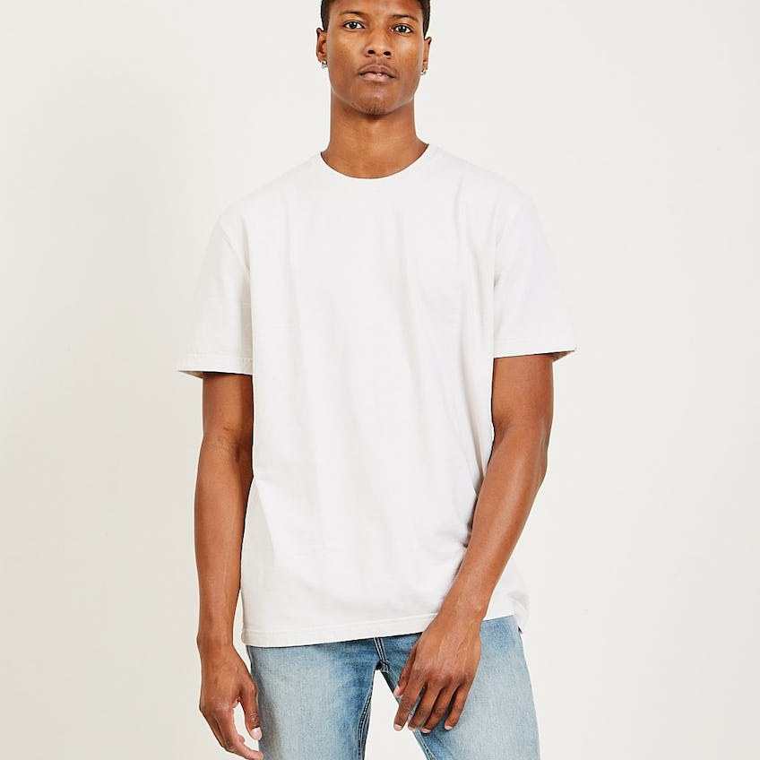 Classic Essential French Terry Tee Washed Pink 0