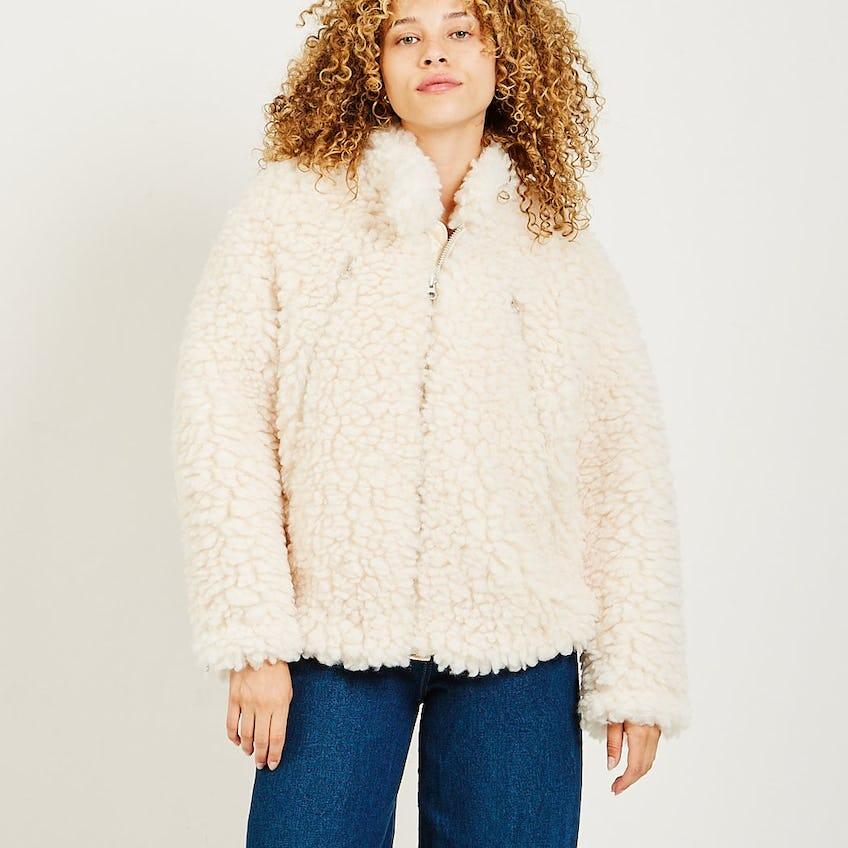 Faux Sheepskin Jacket 0
