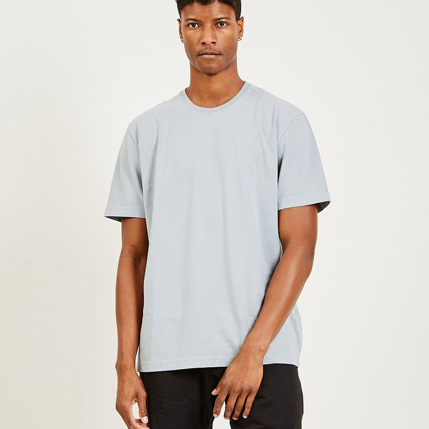 Classic Essential Tee Washed Slate Grey 0