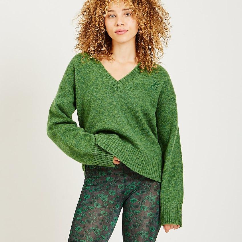 V-Neck Sweater 0