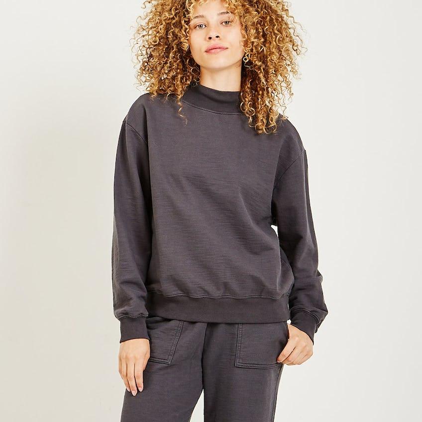Nova Mock Neck Sweatshirt 0