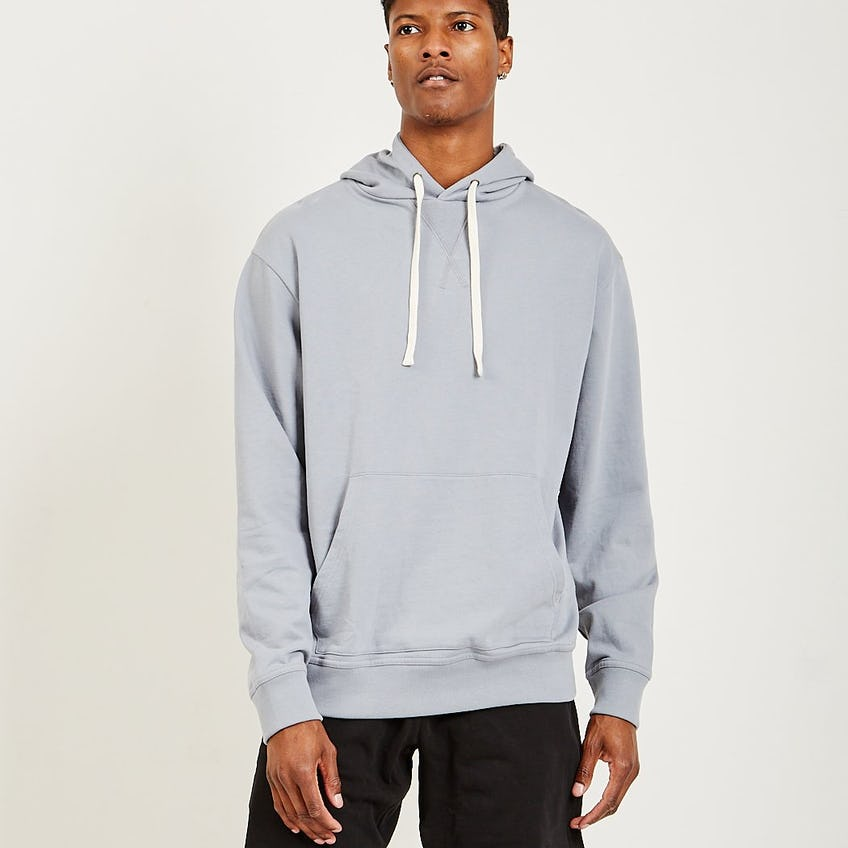 French Terry Hoodie Grey 0