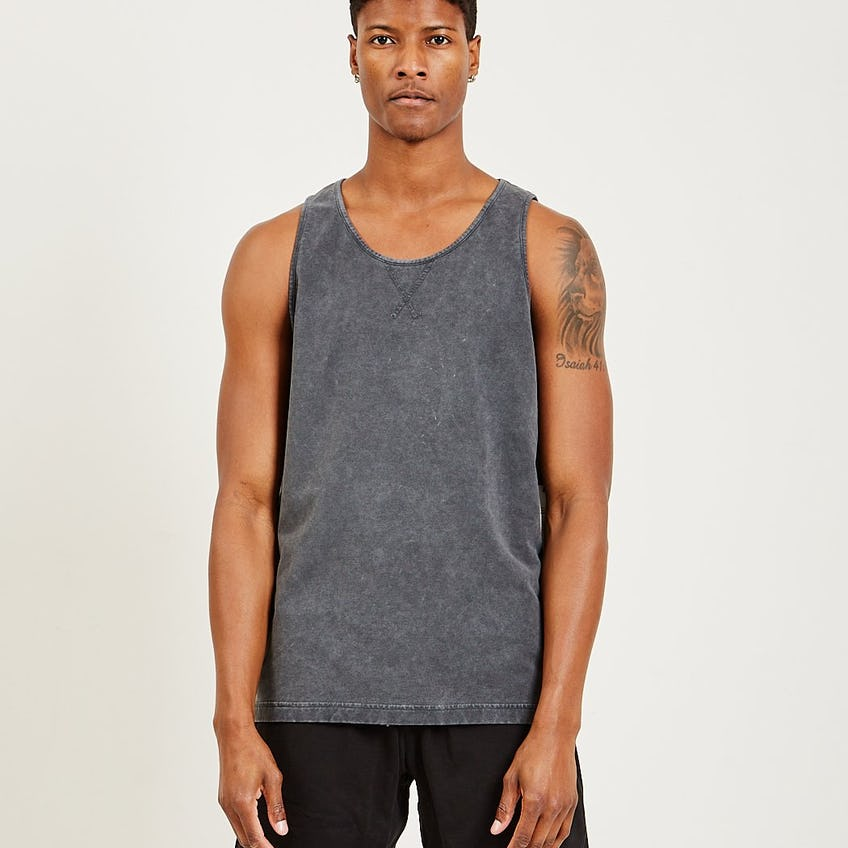 Classic French Terry Tank Black 0