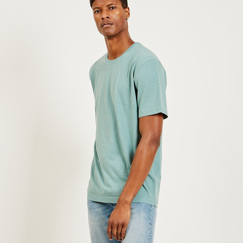 Classic Essential Tee Washed Sage 0