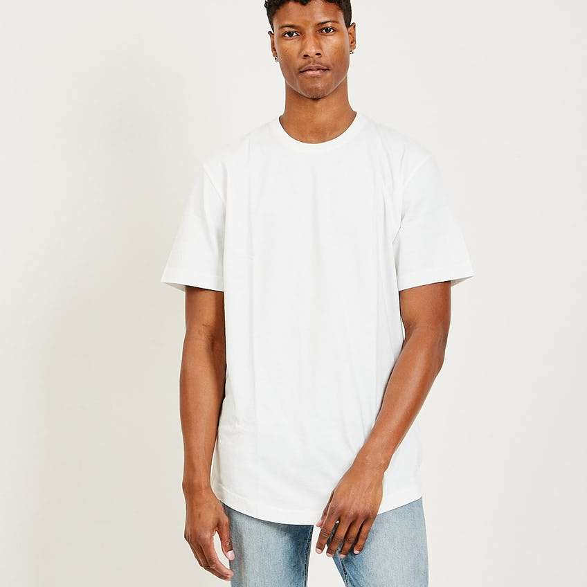 Classic Scoop Tee Washed Ivory 0